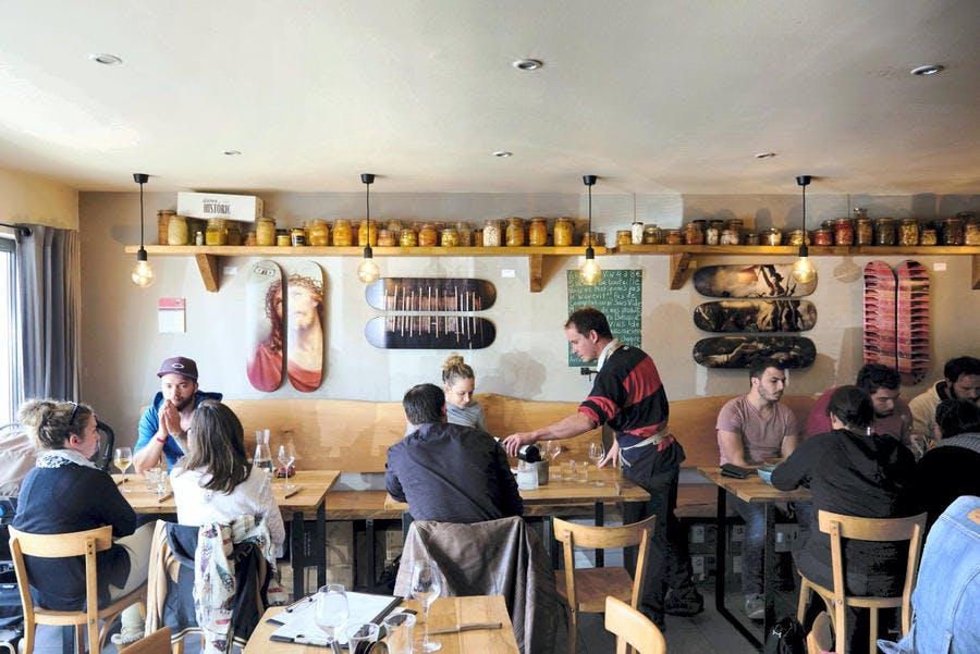 Restaurant au Pays Basque