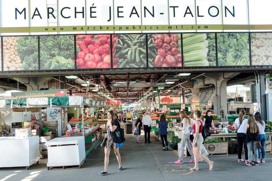 Marché Jean Talon à Montréal