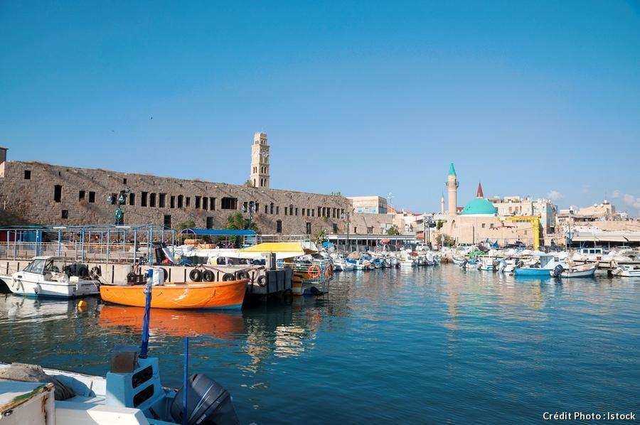 Vieille ville d'Acre, en Israël