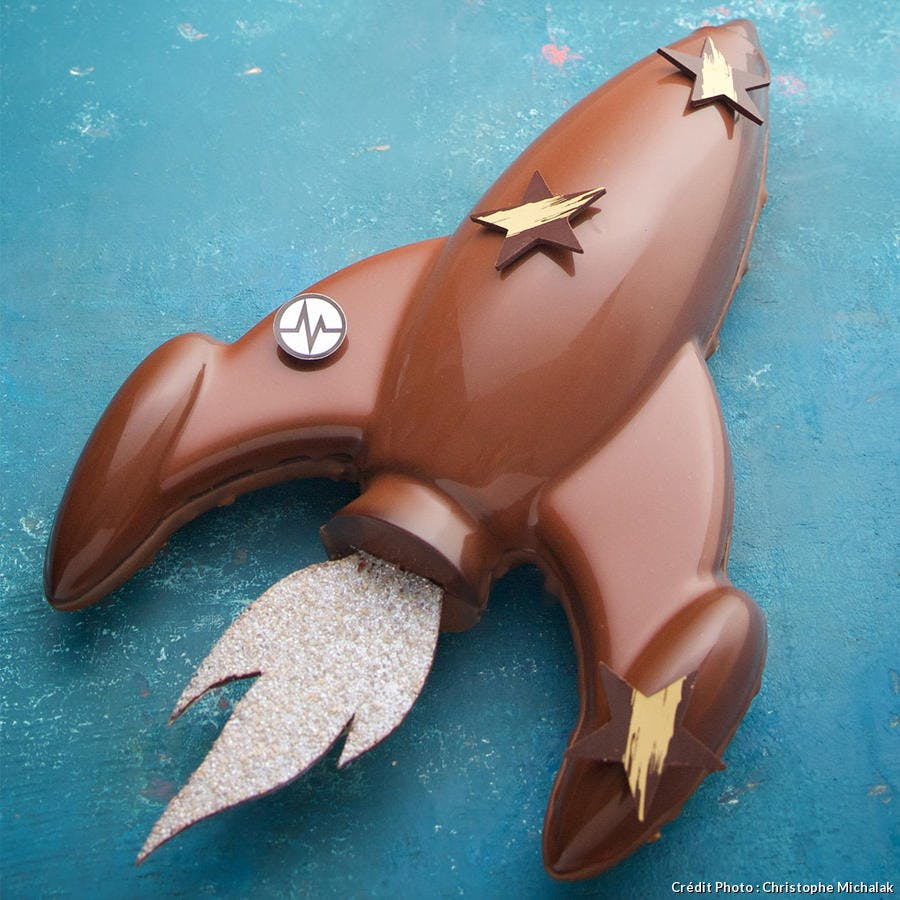 Buche rocket Christophe Michalak