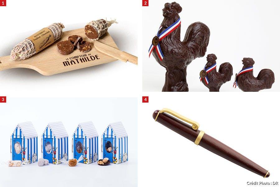 Cadeaux fête des pères en chocolat
