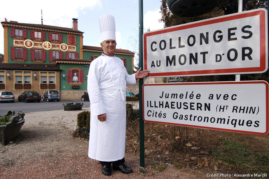 Paul Bocuse, Collonges au Mont d'Or