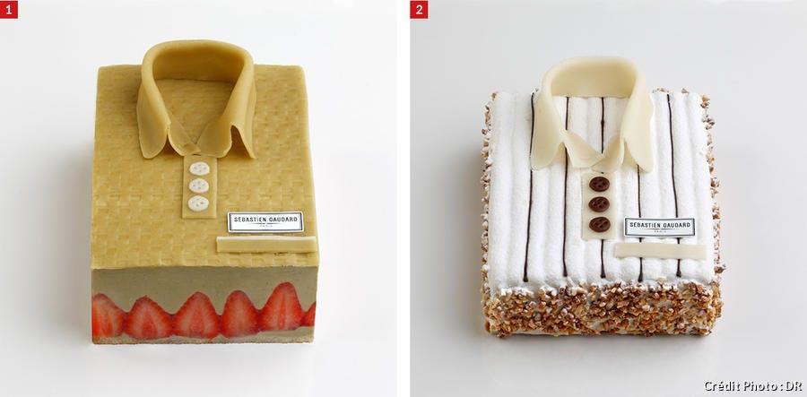 Gâteaux en forme de chemise