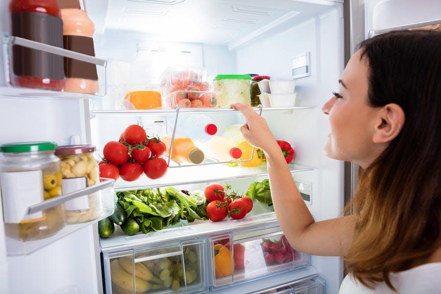 Intérieur réfrigérateur