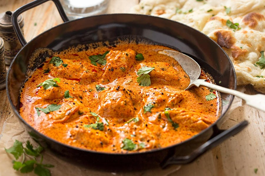 Curry indien au gingembre