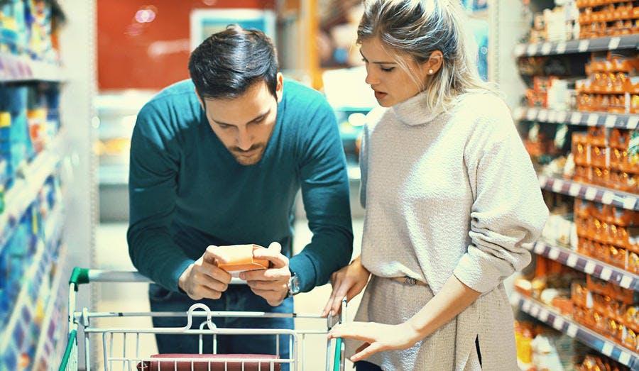 Supermarché : lire les étiquettes