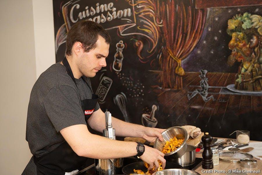Julien Loquet gagnant du cooking talent 2018