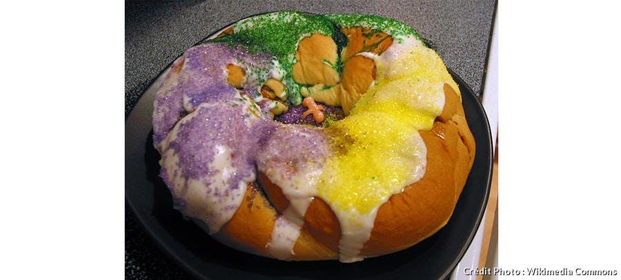Le King Cake, une recette de Mardi gras venue de la Nouvelle-Orléans