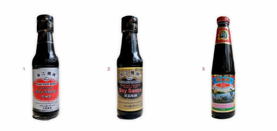Sélection de sauces soja