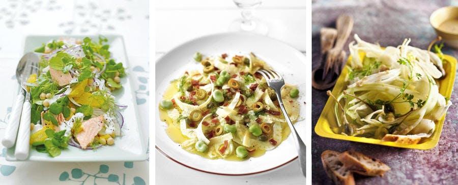 Différentes recettes de fenouil
