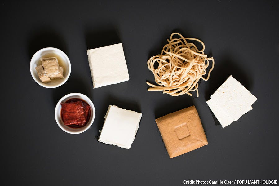 Variétés de tofu