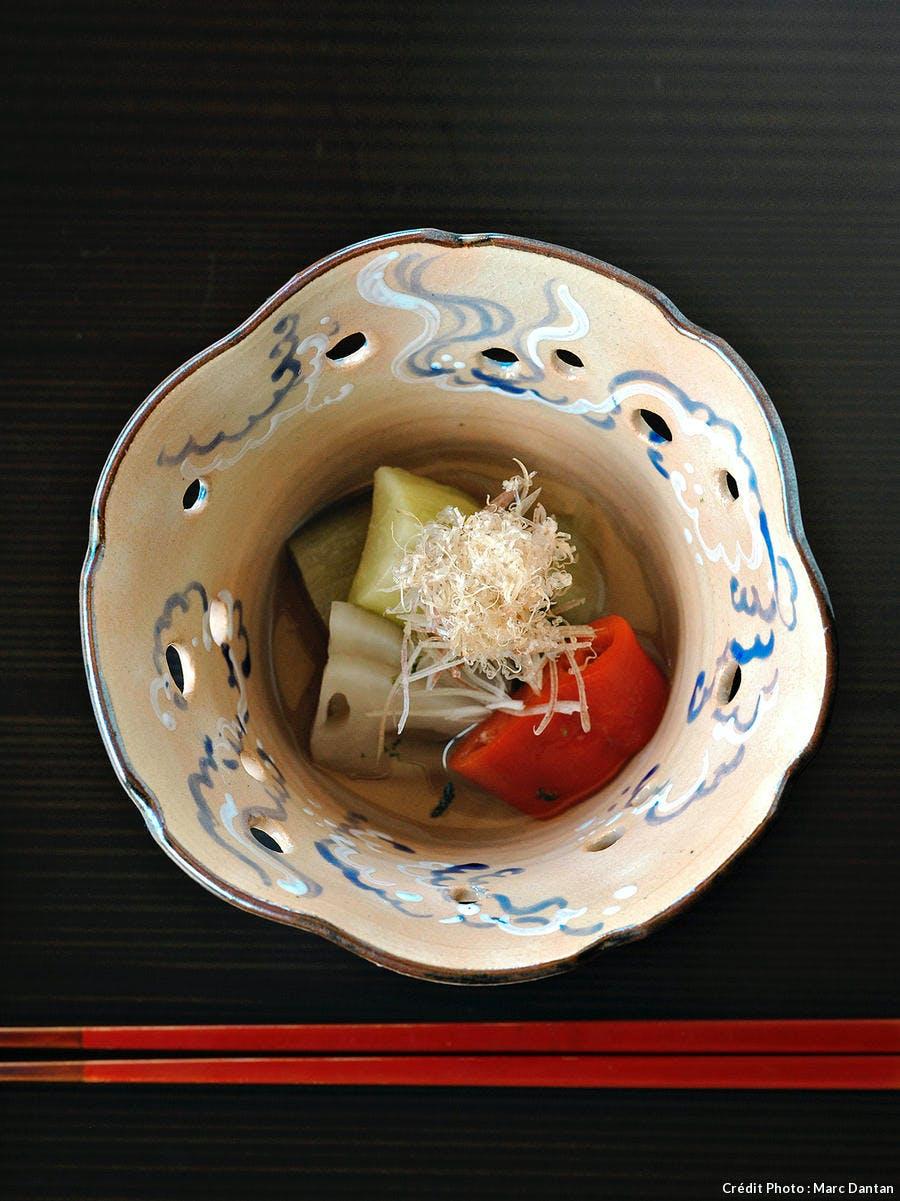 légumes marinés kubota