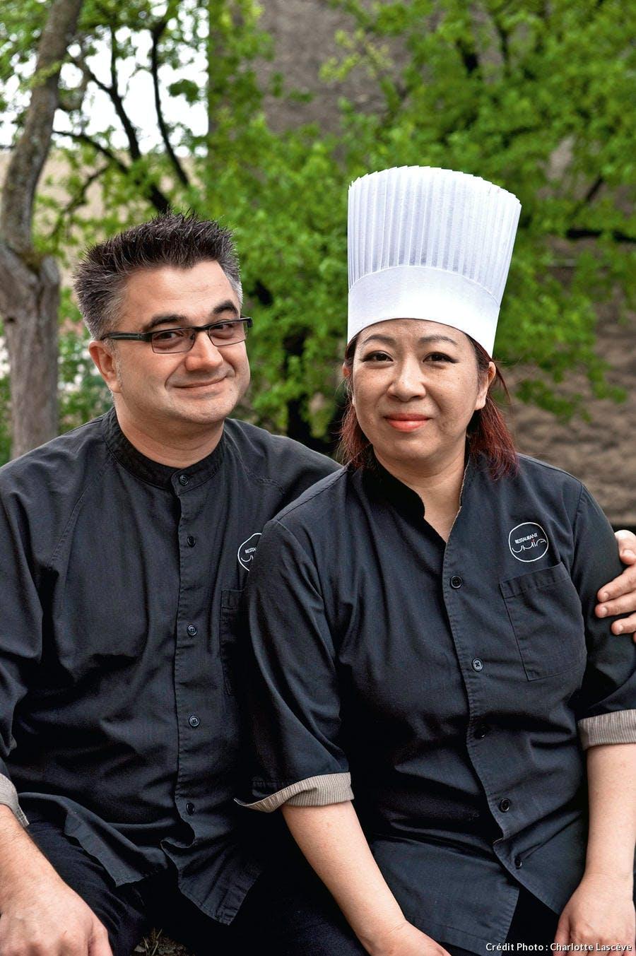 Umia  Rika et Frédéric