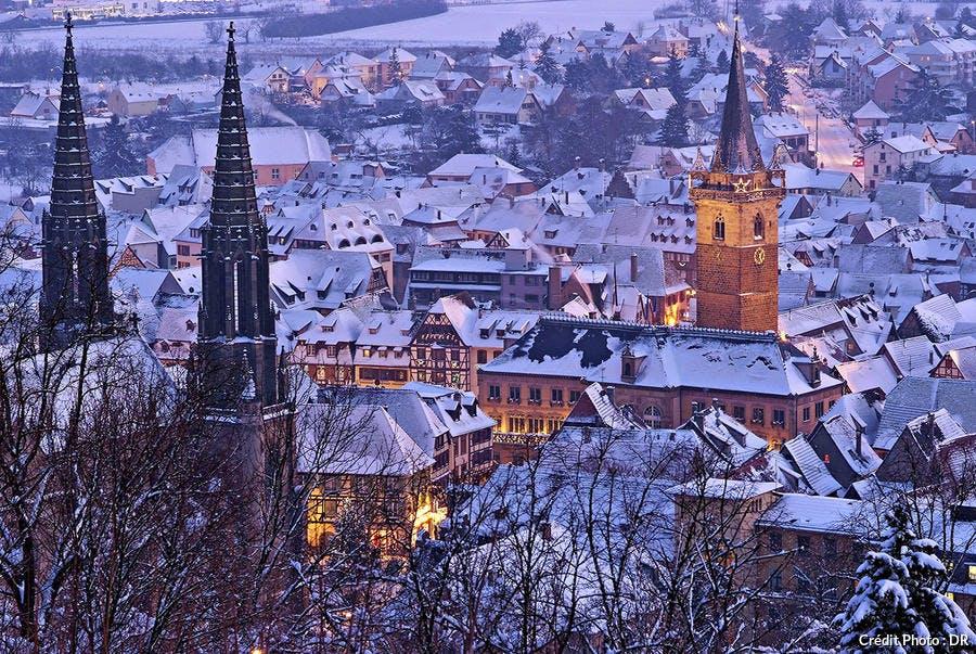 Strasbourg sous la neige