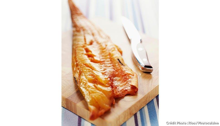 Filet de haddock fumé