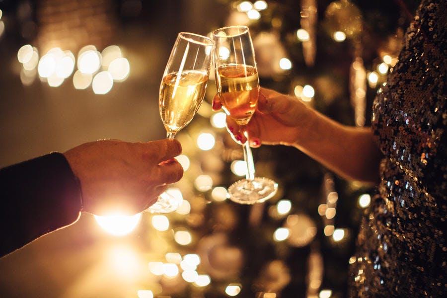 Coupes de champagne