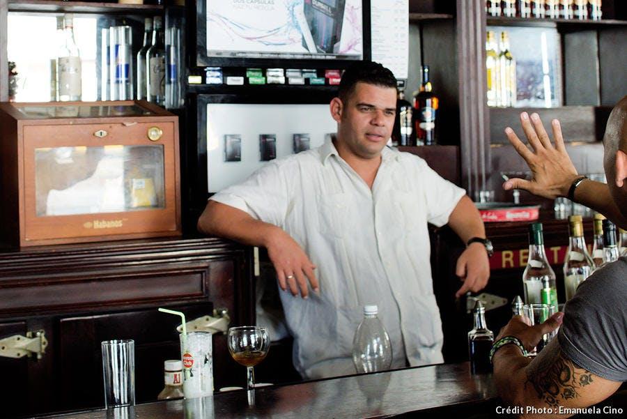 Los Dos Hermanos, célèbre bar cubain
