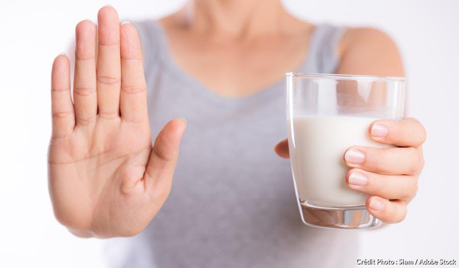 Intolérance lactose/lait. Maux de ventre.