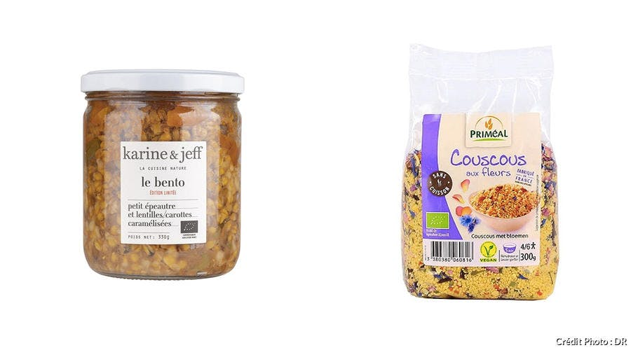 Petit épeautre et lentilles bio - Couscous aux fleurs bio