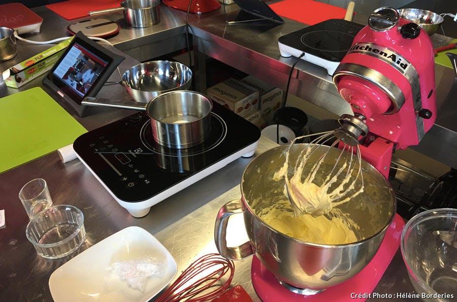 Préparation de la crème au beurre