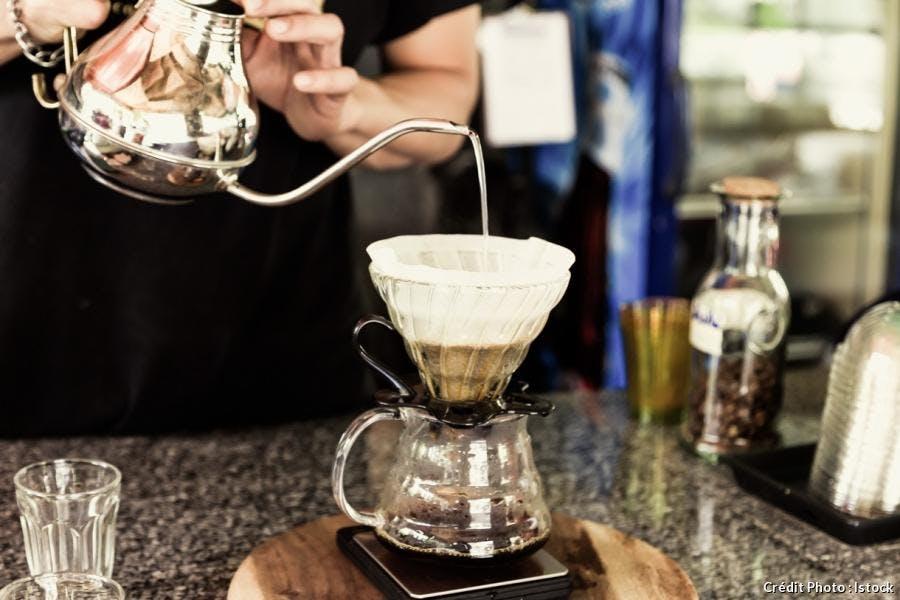 café filtre - infusion lente