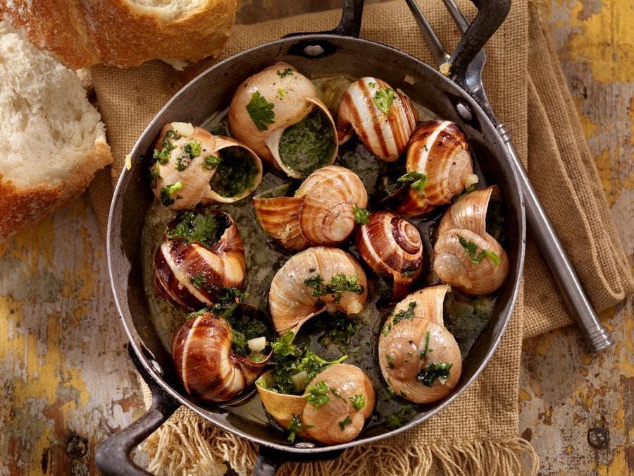 Plat d'escargots de Bourgogne