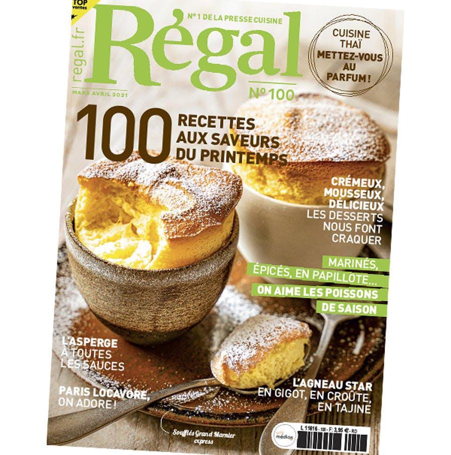 Régal n° 100 couverture du magazine