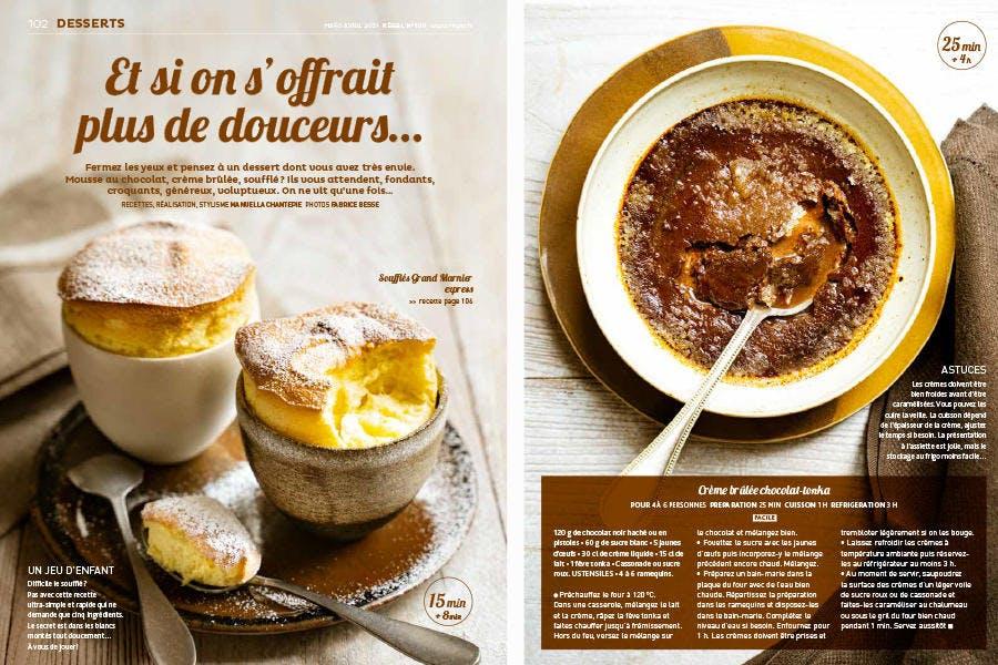Magazine Régal n° 100 / Sujet dessert