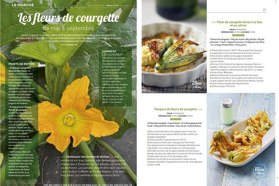 Comment cuisiner les fleurs de courgettes ?