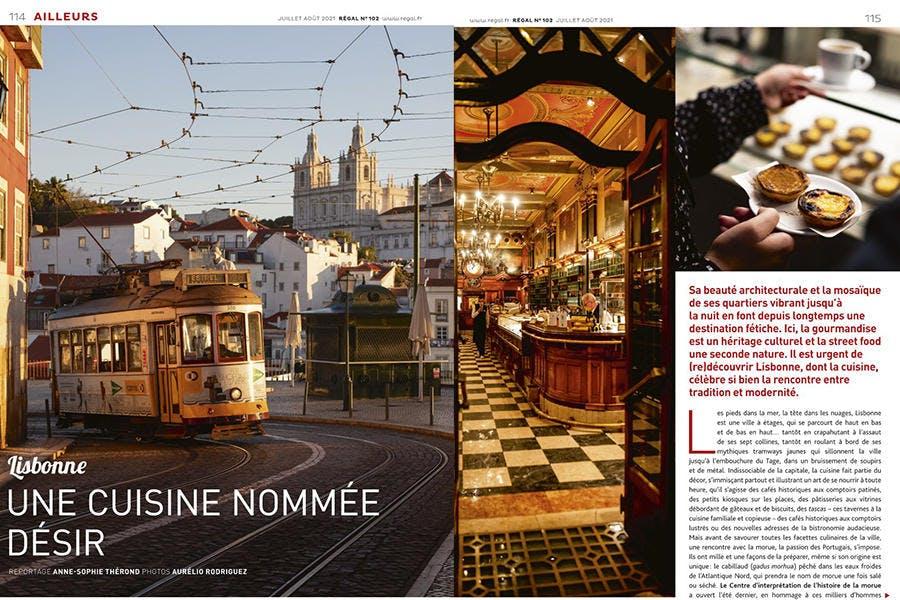 Reportage de cuisine à Lisbonne