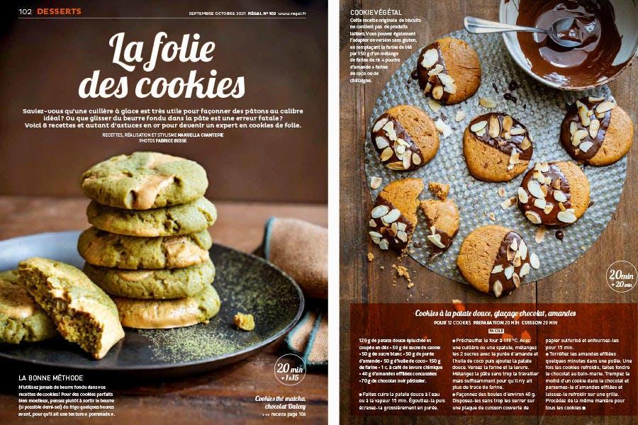 Régal 103 La folie des cookies