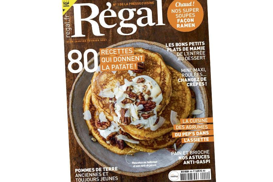 Régal 99 couverture magazine