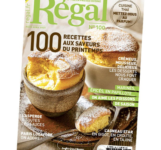 Régal n° 100 couverture du magazine