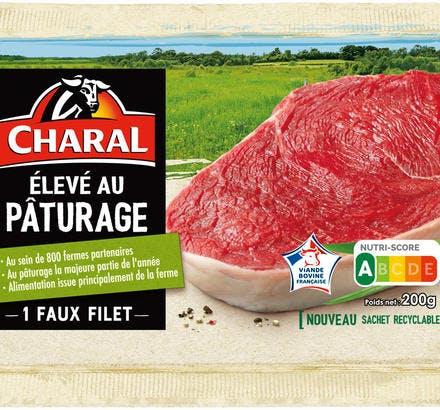 Faux filet de boeuf CHARAL (élevé au pâturage)
