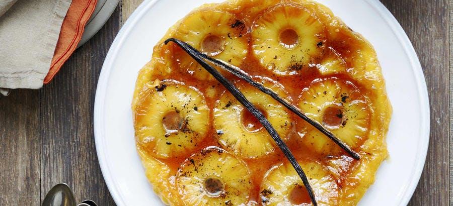 Tarte tatin à l'ananas