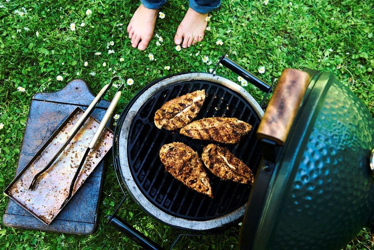 Poulet cajun au barbecue