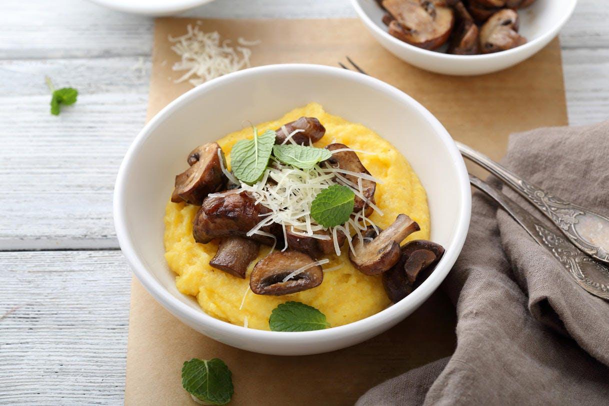 Idées de recettes avec de la polenta.