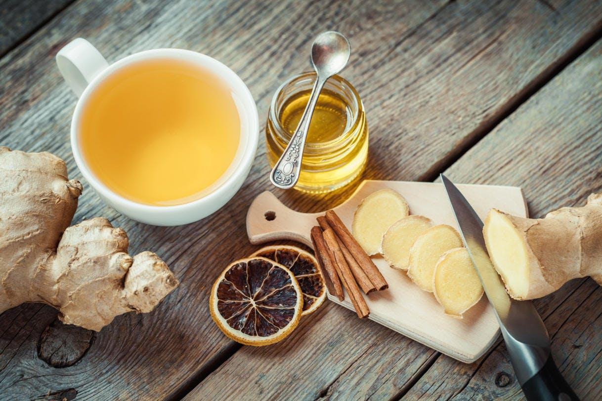 Infusion aux épices et au miel