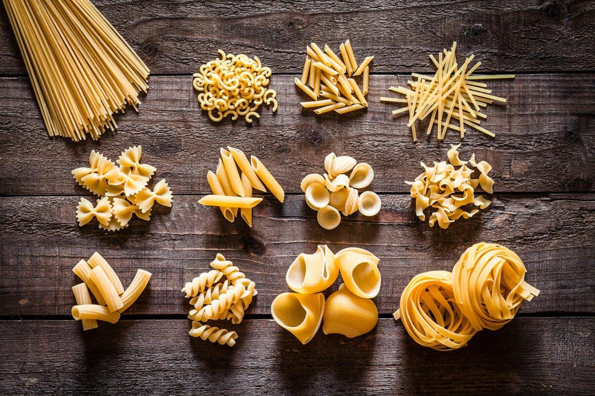 Variétés de pâtes