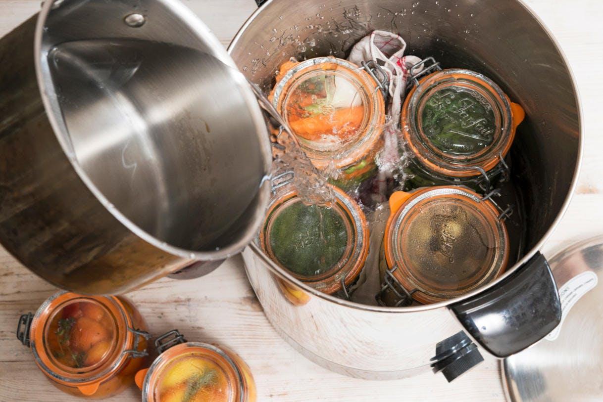 Préparer des bocaux maison / traitement thermique