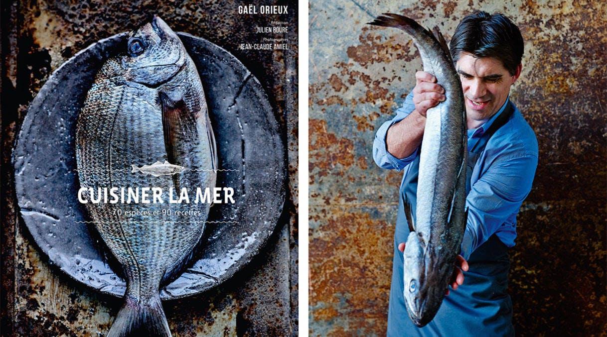 Livre Cuisiner la mer du chef Gaël Orieux