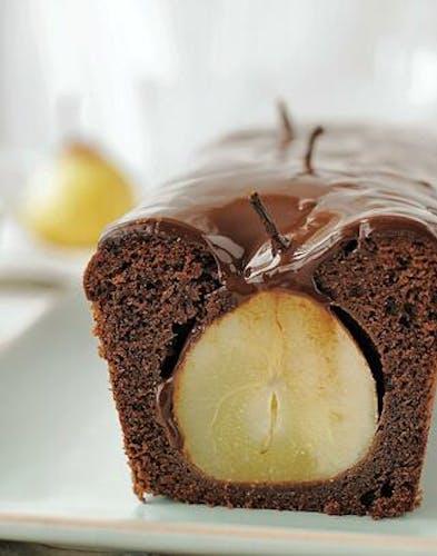 Cake poire chocolat