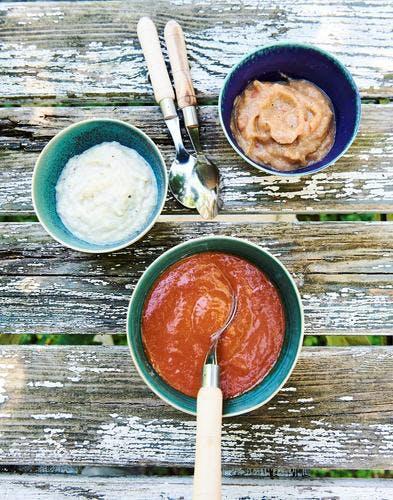 Légumes grillés pour dips d'été