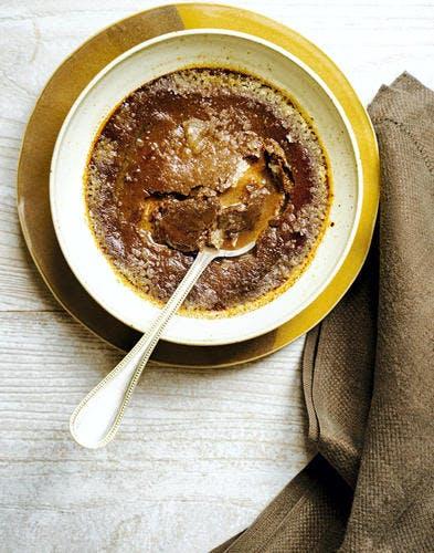 Crème brûlée chocolat-tonka