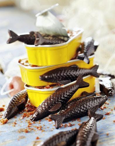 Fritures au chocolat