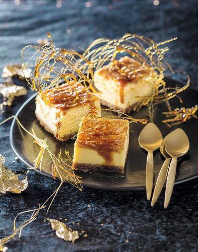 Mini cheesecake aux speculoos et caramel