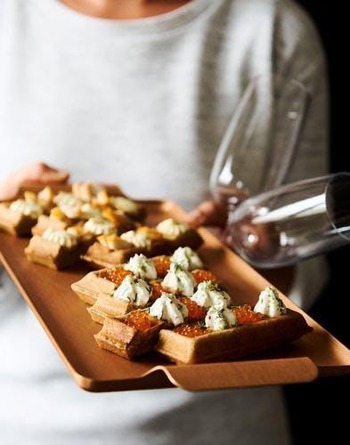 Belle Gaufrettes pour l'apéritif : recette de fête facile | Régal YQ-65