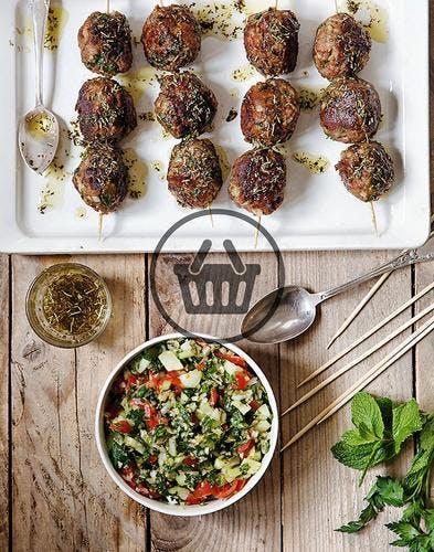 Barbecue libanais et taboulé | Simple & Bon