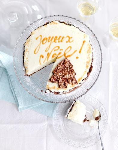 Cheesecake de Noël