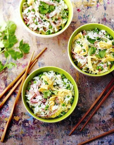Recette chinoise du riz cantonnais